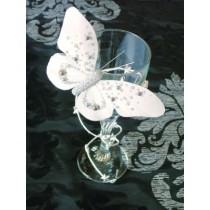 Papillon perlé